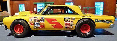 Built 1:25 AMT 1965 Dodge Coronet Modified Stock Car. Please read description. https://t.co/ctmDfIv1C4 https://t.co/6HCrNXjPcU