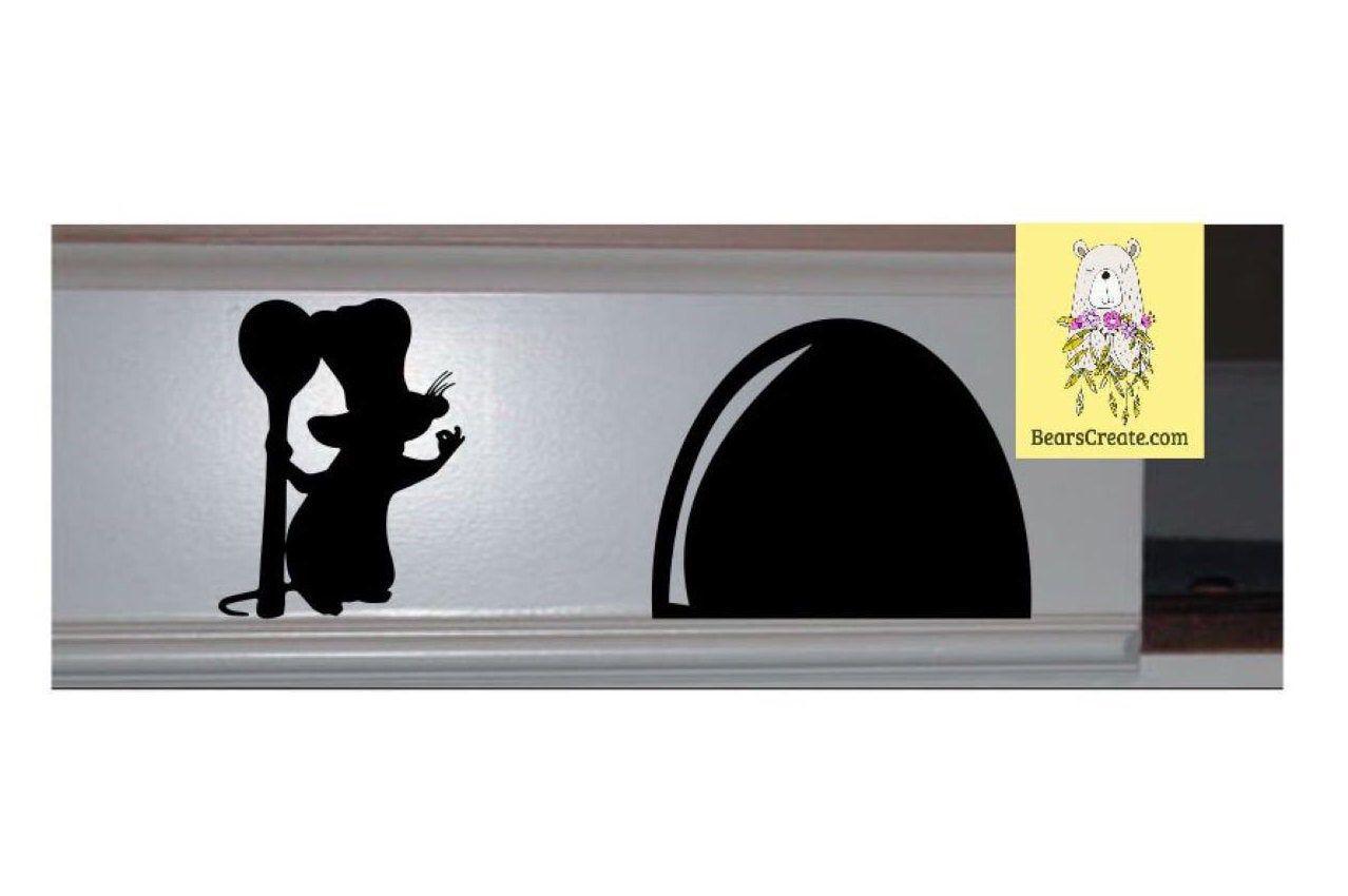 Download Disney Home Decor Remy Baseboard Decal Ratatouille Vinyl ...