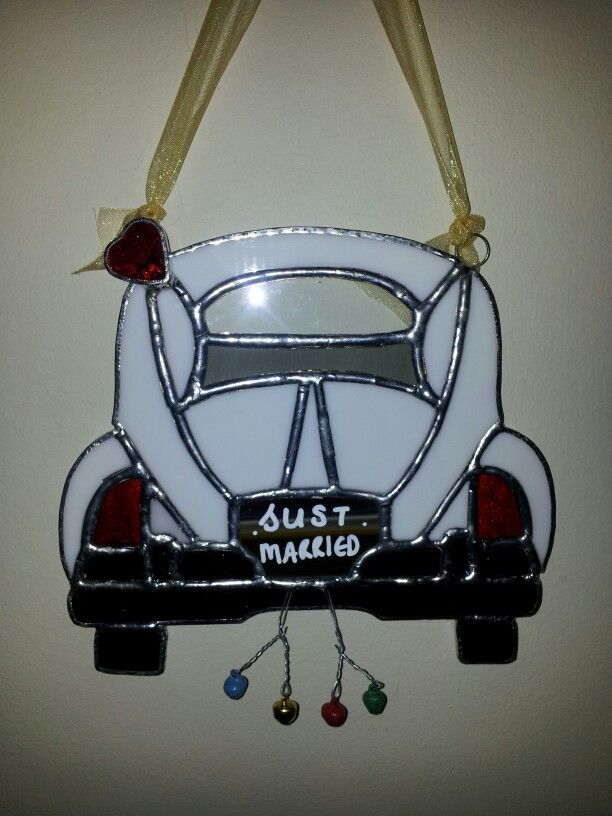 Stained Glass Vw Wedding Car Designed By Glass Gifts