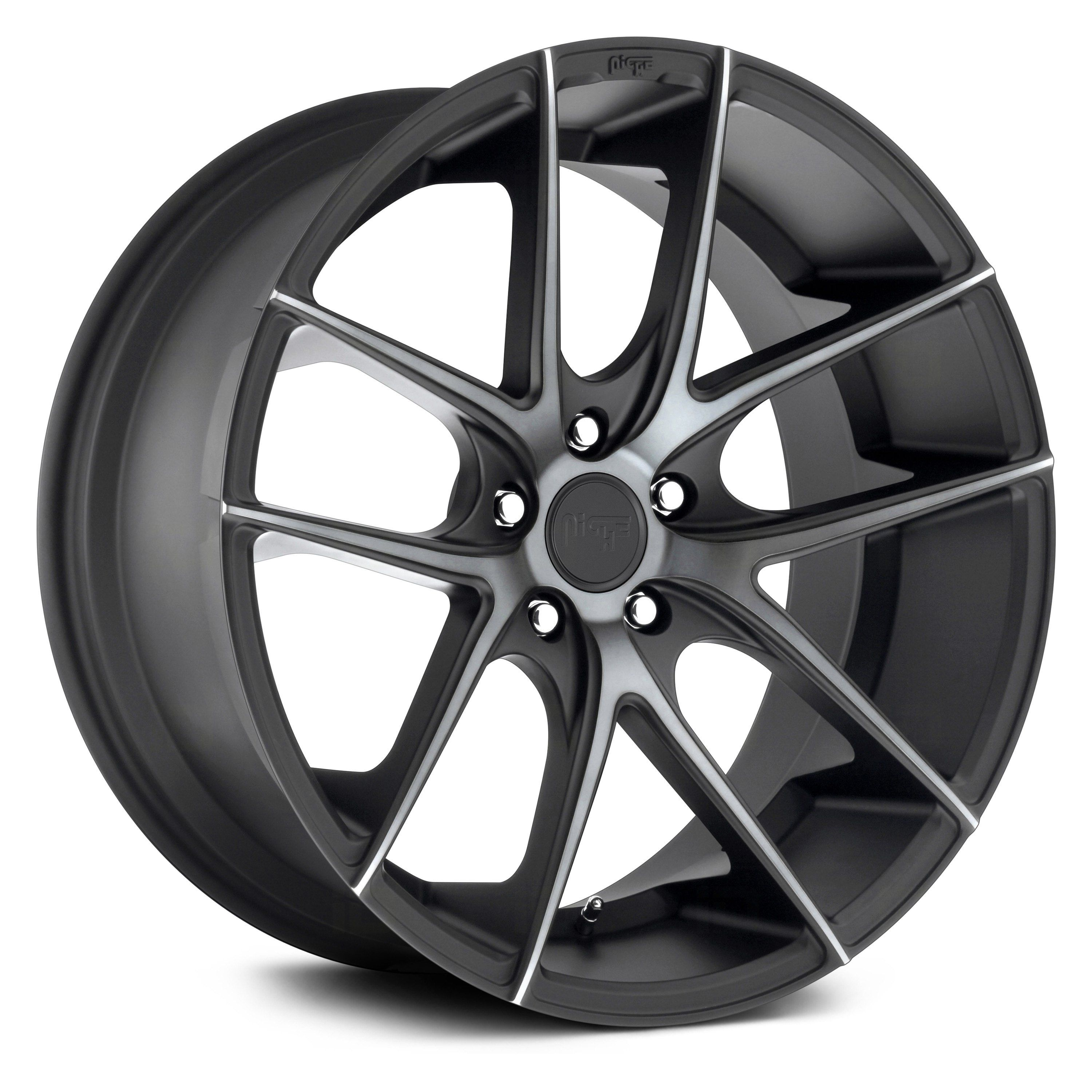 M130 TARGA Black With Machined Face And Double Dark Tint