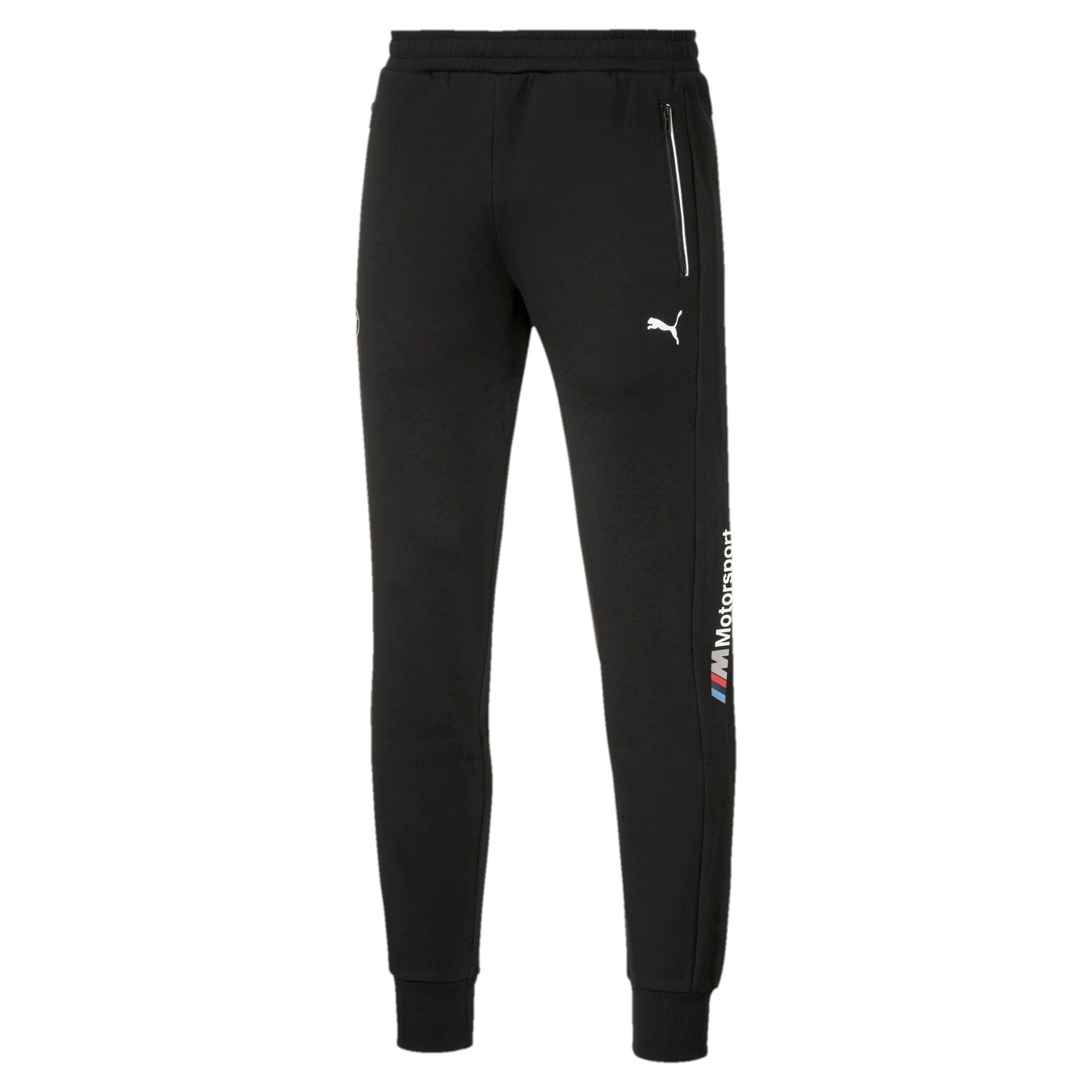 PUMA BMW M Motorsport Knitted Men's Sweatpants in Black size 2X Large #sweatpantsoutfit