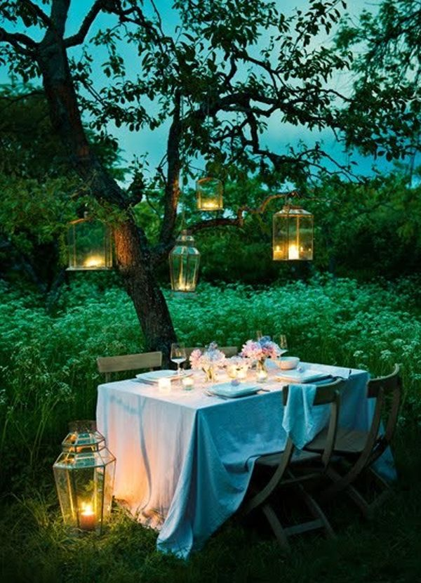 20 Inspirational Night Wedding Ideas | Night garden, Garden weddings ...