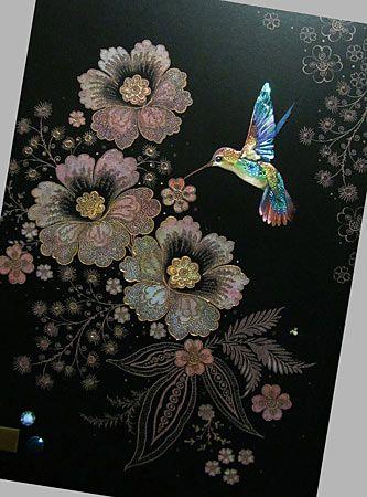 Bug art jewels greeting card blue hummingbird by jane crowther bug art jewels greeting card blue hummingbird by jane crowther m4hsunfo