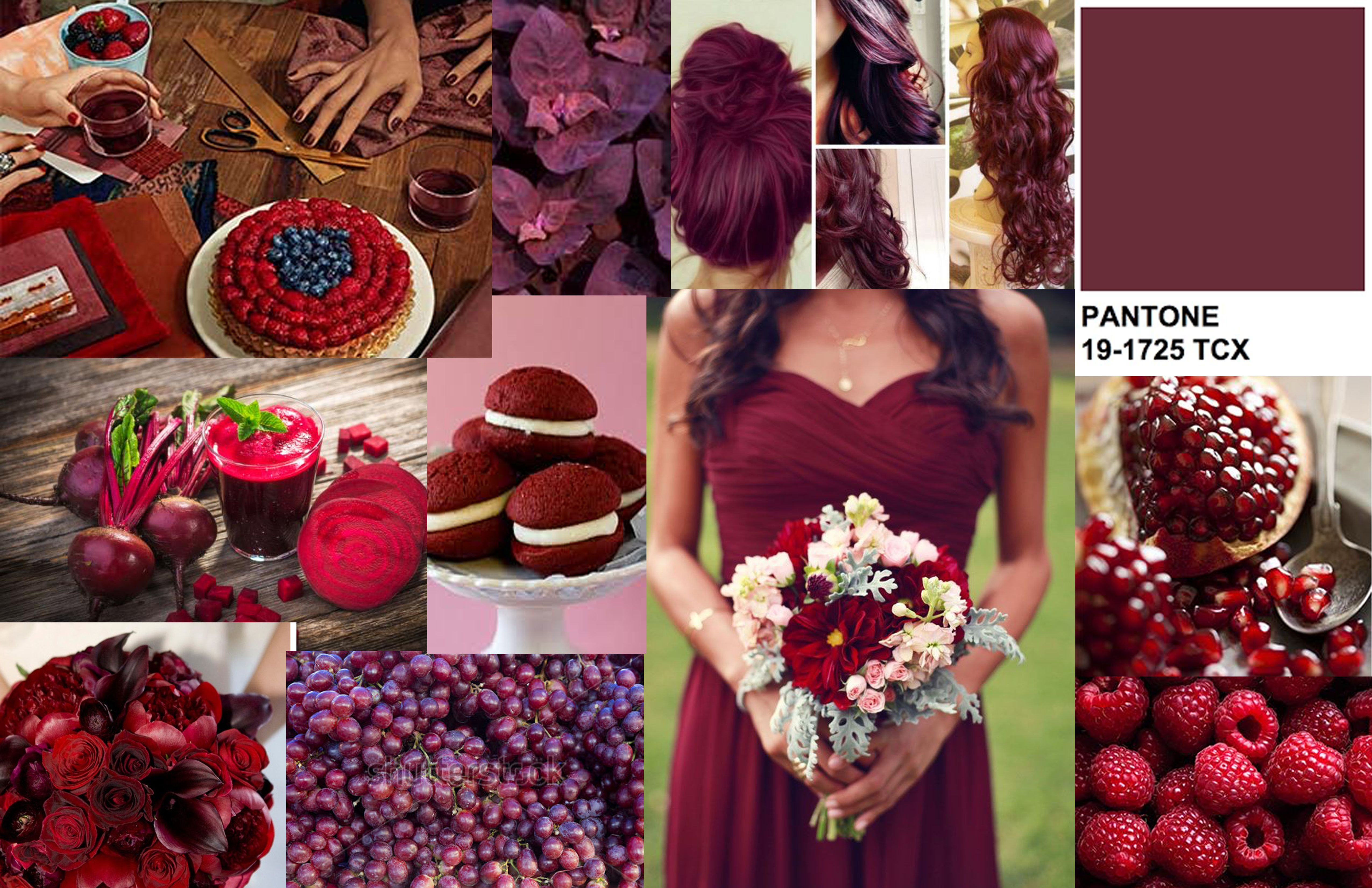 Tawny Port Pantone Burgundy Fashion Autumn Fashion 2018 Color Mixing