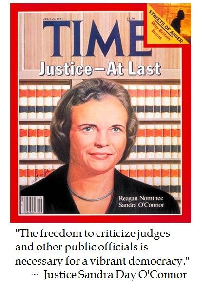 Sandra Day O Connor Quotes Magnificent Justice Sandra Day O'connor On Democracy  Pearls Of Wisdom