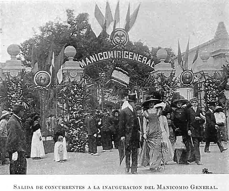 El Manicomio General La Castañeda Fue Un Monumental Complejo Arquitectónico Inaugurado En Septiembre De 1910 Fotos De Mexico Historia De Mexico Fotos Antiguas