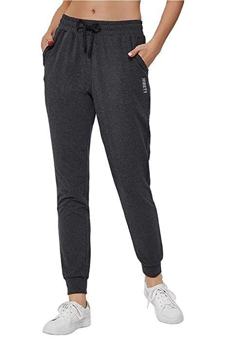 HARTPOR Women's Athletic Sweatpants Active Yoga Pants Cotton Workout Joggers Pants Lounge Sweat Pants with Pockets