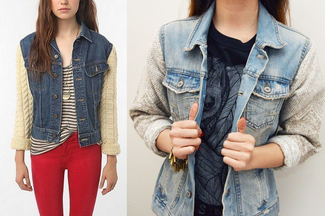 Studded jean jackets can be a great addition to any wardrobe! And you can use your old jackets without having to buy a new one.For this project you will need:1 denim jacket or veststudscharmsneedle/threadknife