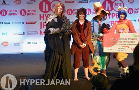 The 2012 winners of the UK selection rounds for ECG and WCS! www.hyperjapan.co.uk