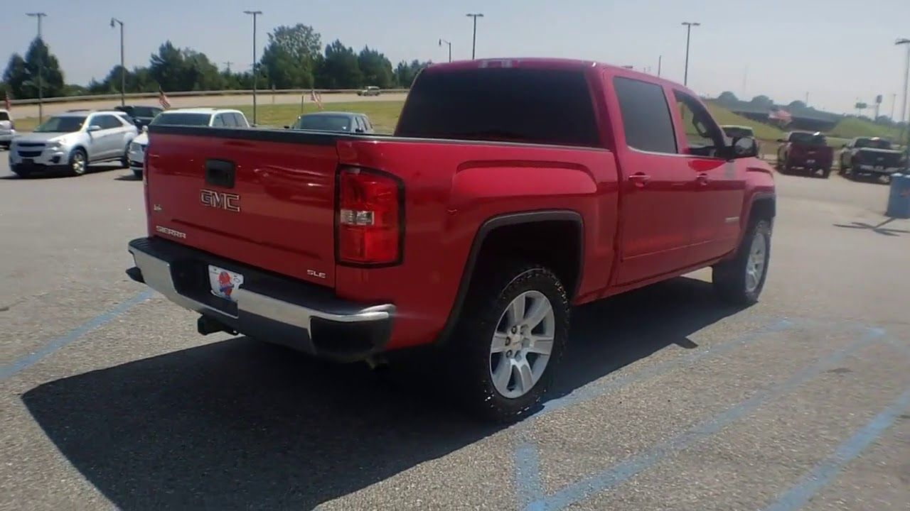 Used 2015 Gmc Sierra 1500 Sle At Burns Chevrolet Of Gaffney 12072sb Gmc Sierra Sierra 1500