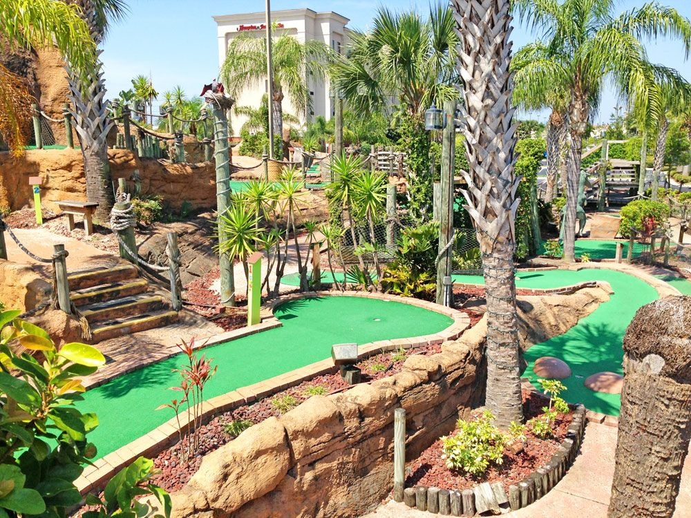 Volcano Island Miniature Golf | Orlando4U | Miniature golf