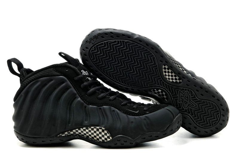 d5162e2aa81 Nike Air Foamposite One Black Black Anthracite 314996 001 ...