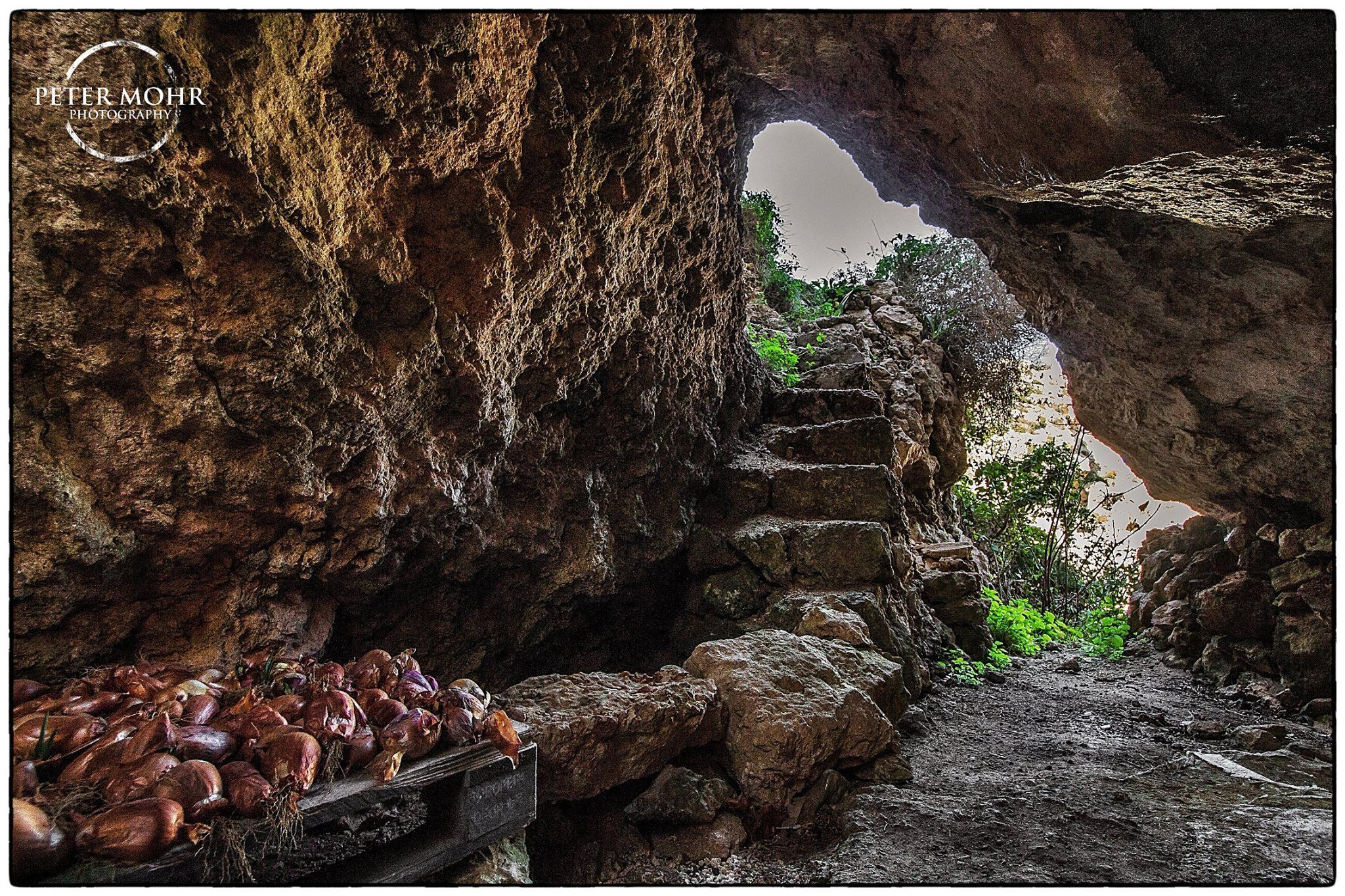 beautiful old cave still in use - Gozo 01.03.2015