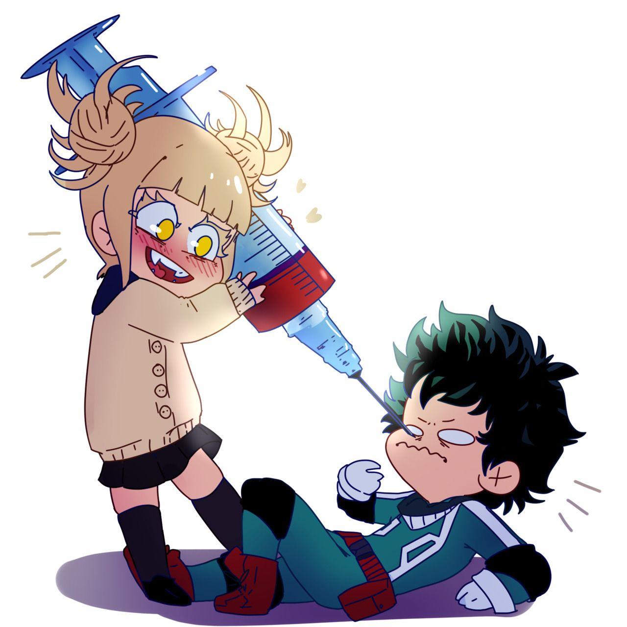 Toga X Deku My Hero Academia Deku Boku No Hero Hero