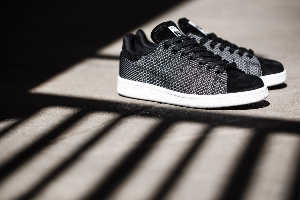 """meet 79905 9679e adidas Originals Stan Smith """"Core Black"""" Woven   Suede"""