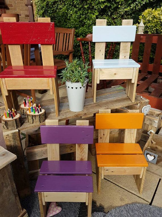Handmade Childrens Wooden Chairs Can Be By Heartsandcraftsskelm