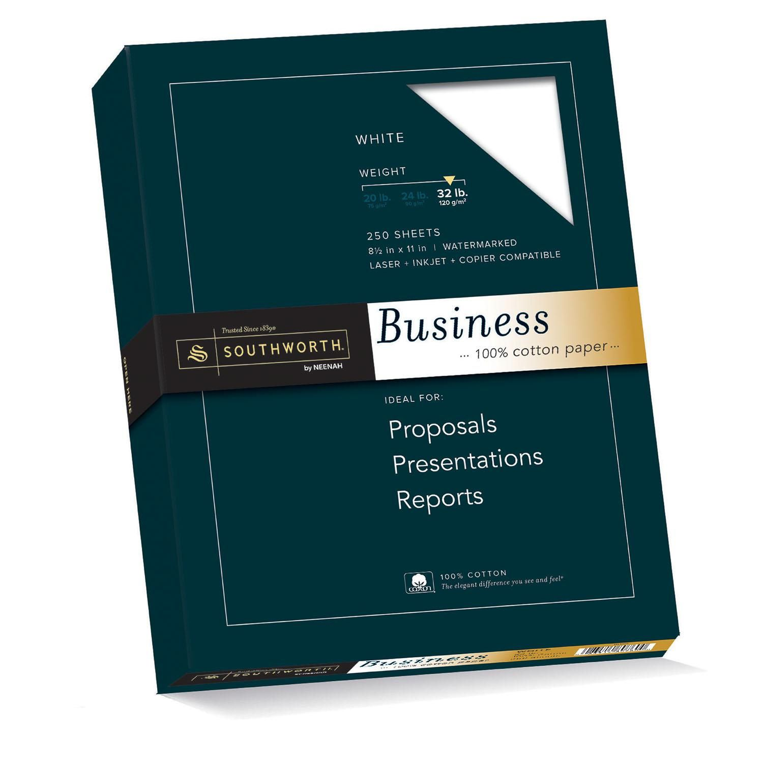 Southworth Fine Business Paper, 25 Cotton