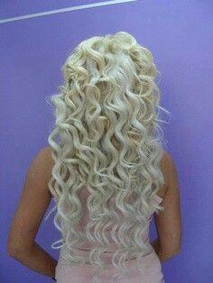 Bleach blonde:)