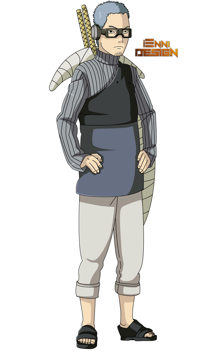 Boruto The Next GenerationChojuro by iEnniDESIGN Anime