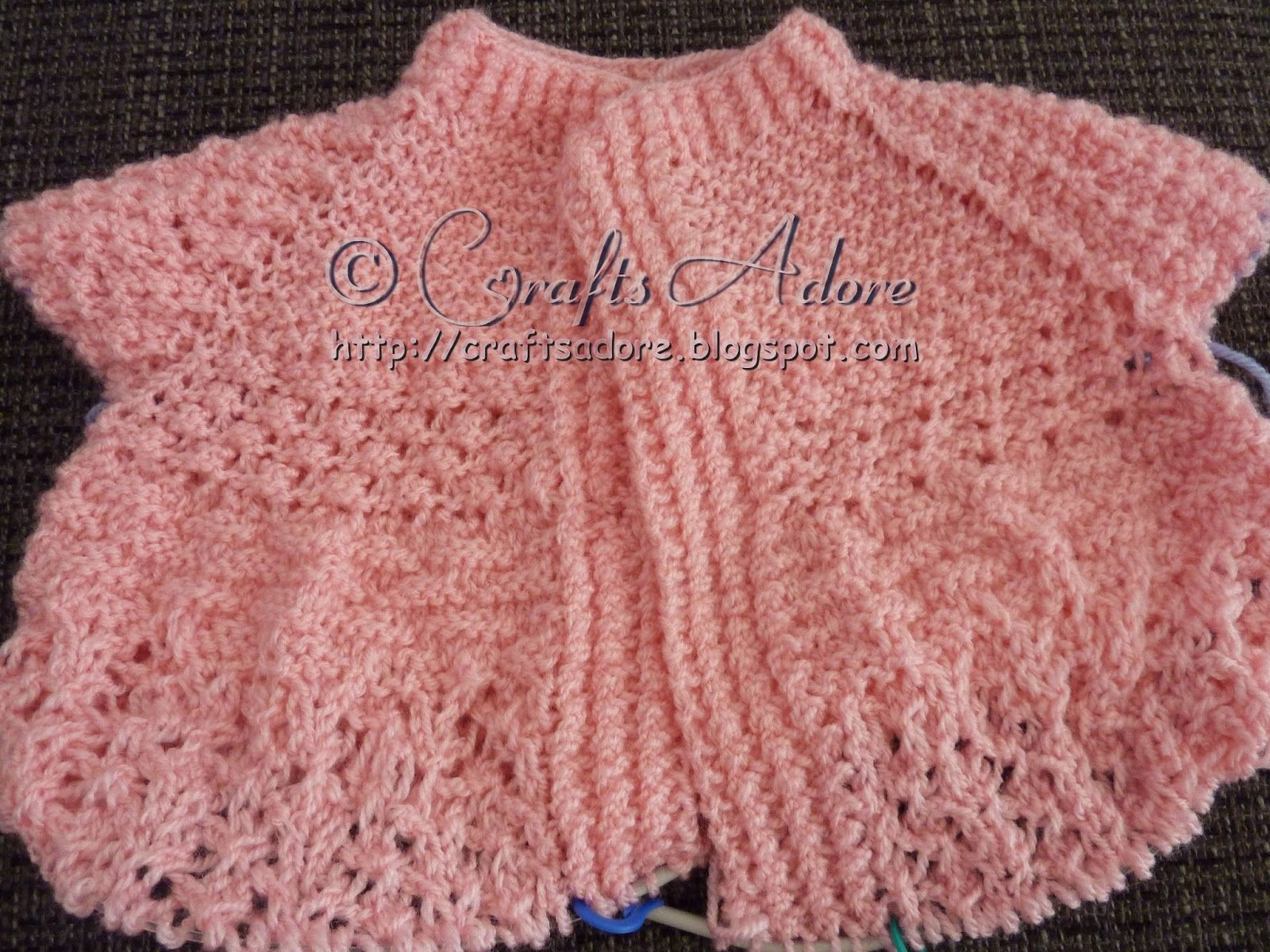 Knitted Baby Girl Layette Free Knitting Pattern | Knitting patterns ...