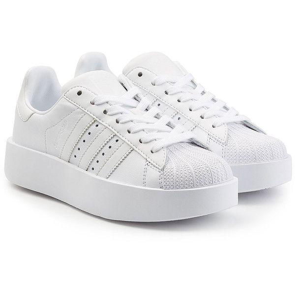 Adidas Originals Superstar Platform Leather Sneakers (7.000