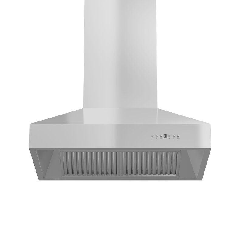 30 Professional Outdoor 400 Cfm Convertible Wall Mount Range Hood In Brushed 304 Stainless Steel Wall Mount Range Hood Stainless Steel Range Hood Stainless Steel Range