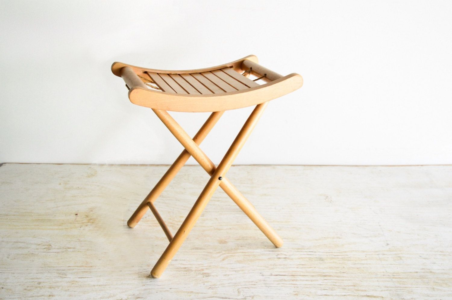 Strange Wood Stool Camp Stool Folding Stool Camping Chair Small Onthecornerstone Fun Painted Chair Ideas Images Onthecornerstoneorg