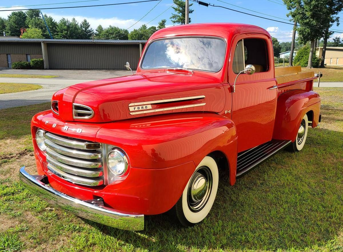 1950 Ford F1 For Sale 2425953 Hemmings Motor News Classic Pickup Trucks Vintage Trucks Ford Pickup Trucks For Sale