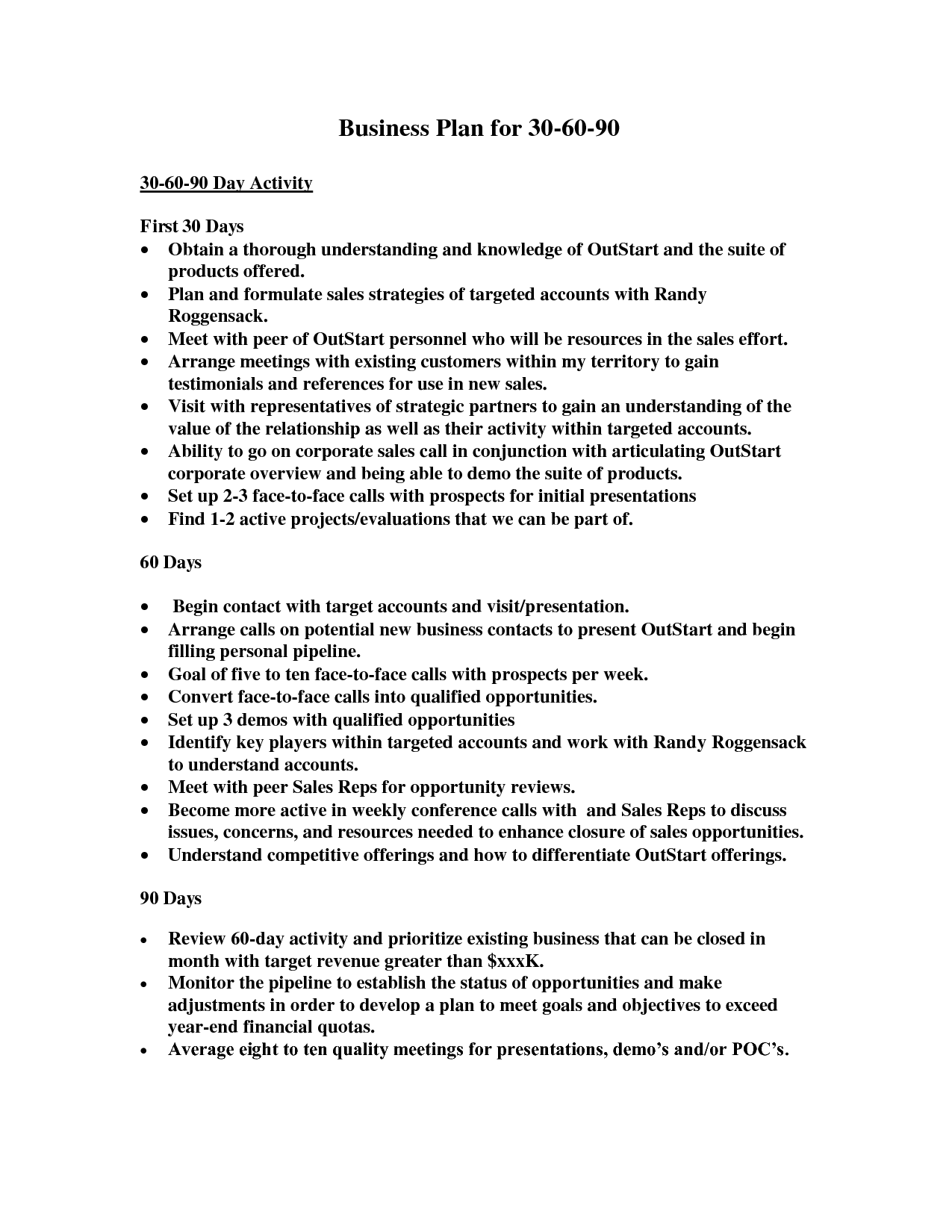 Business Plan For NDJBp Day Business - Business plan for interview template