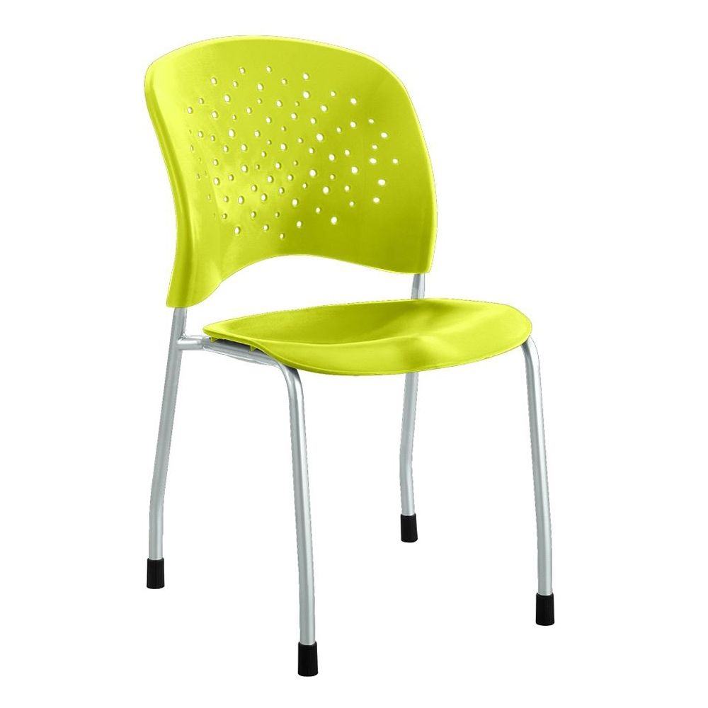 Plastic Guest Chair With Glides Guest Chair Break Room Safco