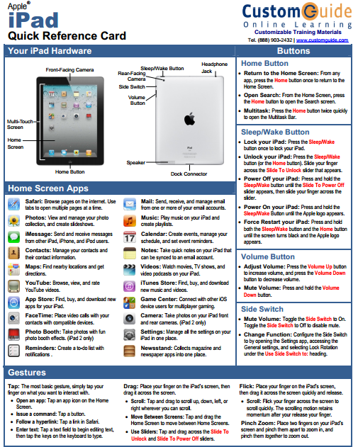 the ultimate printable guide to the apple ipad edudemic mobile rh pinterest com ipad quick start setup ipad quick start setup