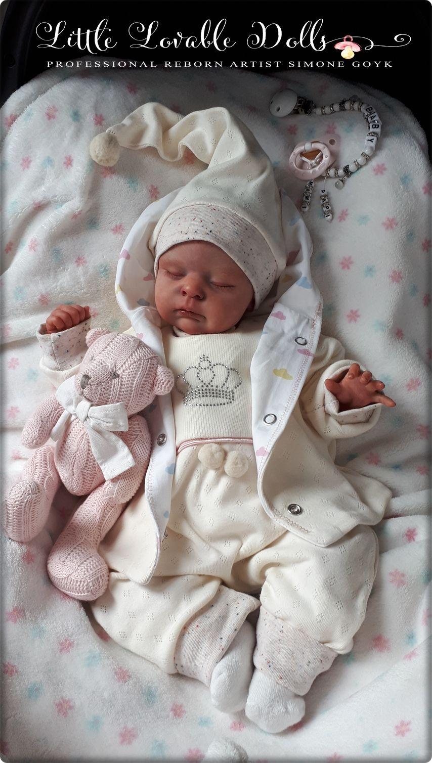 Reborn Baby Puppe Zoey Bausatz Cassie Brace Reborn Baby Dolls Newborn Baby Dolls Reborn Babies