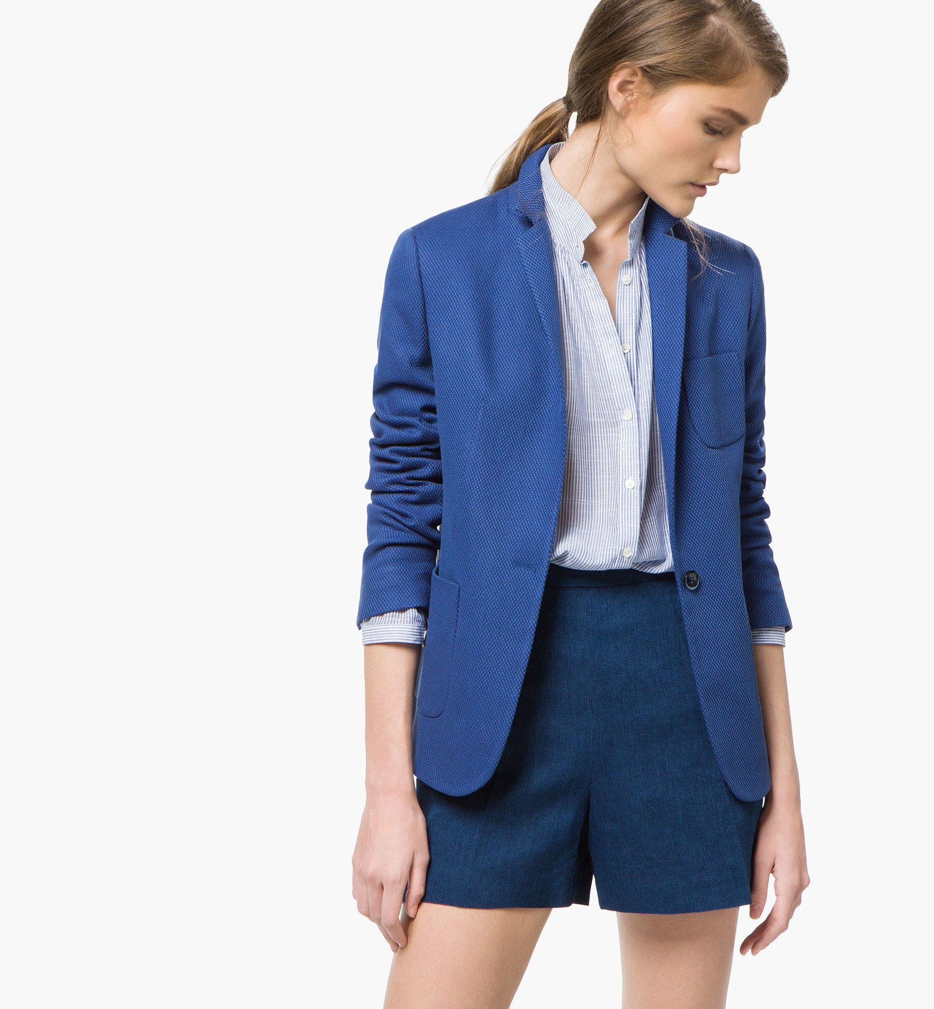 Blue Blazer <3 Massimo Dutti