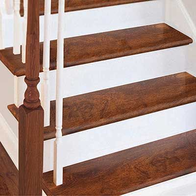Vinyl Plank Stair Treads