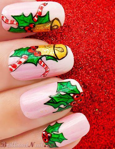 Nail Art For Christmas Nail Designs For Christmas Pinterest