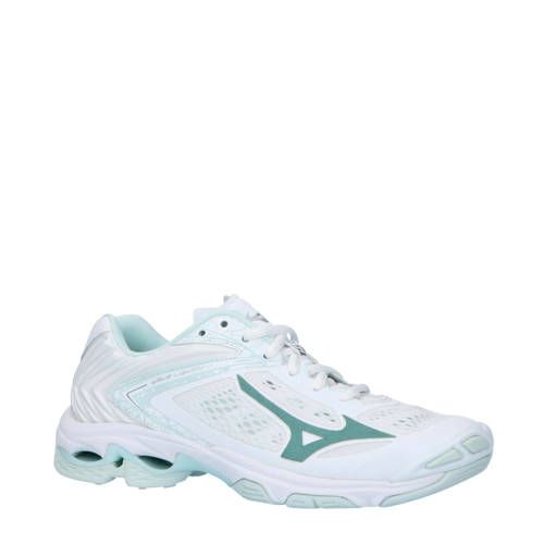 mizuno women's wave lightning z5 indoor court shoe high yellow