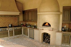 Mugnaini Pizza Oven - Indoor Wood-Fired Oven | Wood fired ovens ...