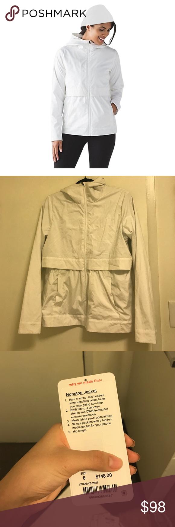 Nonstop jacket lululemon Worn like once just not my size. lululemon athletica Jackets & Coats