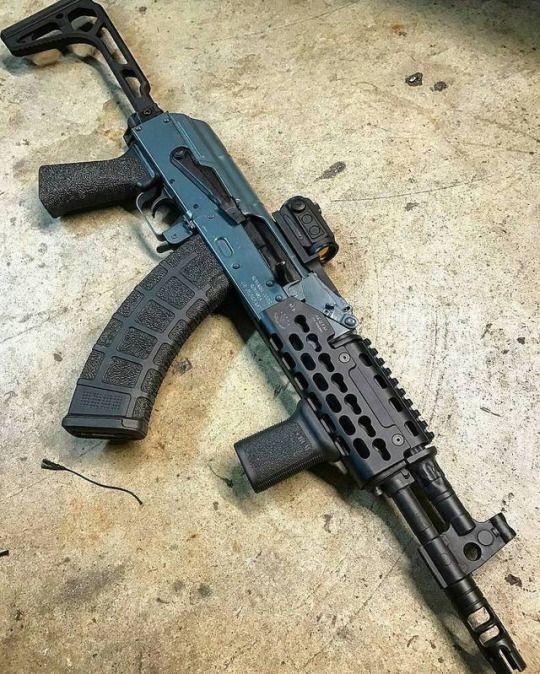 Custom Draco SBR - 7 62x39mm   cool shit   Guns, Weapons
