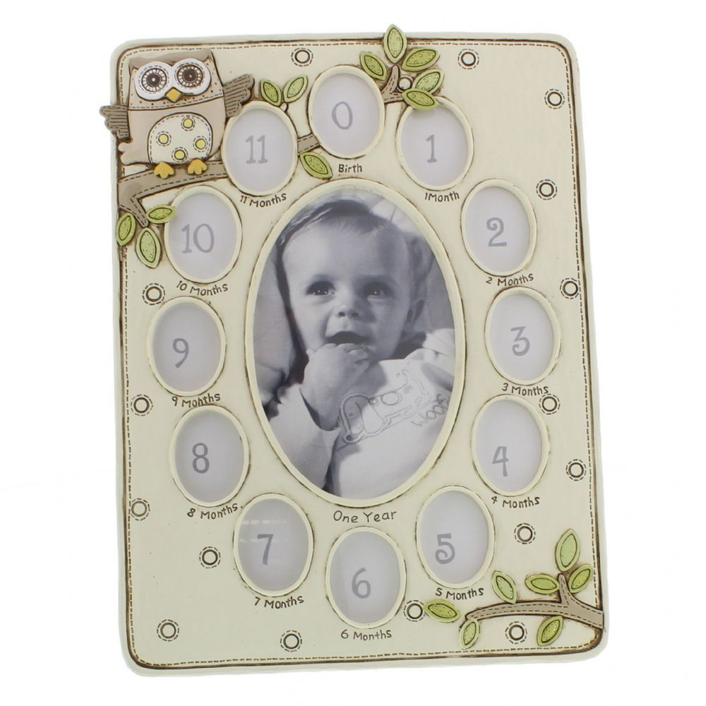 Babys First Year Photo Frame Very Cute Multi Baby Picture Frame
