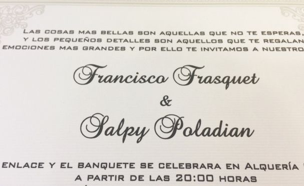 Beautiful #trilingual #wedding #invitation, #Spanish #Wedding Invitation With Spanish  Text,
