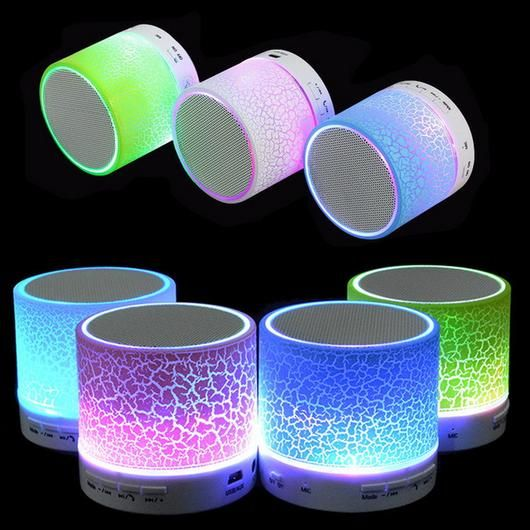 Very Cool Portable Mini Led Bluetooth Speakers Www Therealnomad