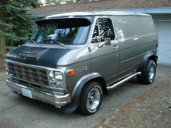 Chevy Vk Gmc Vans Chevrolet Van Custom Vans