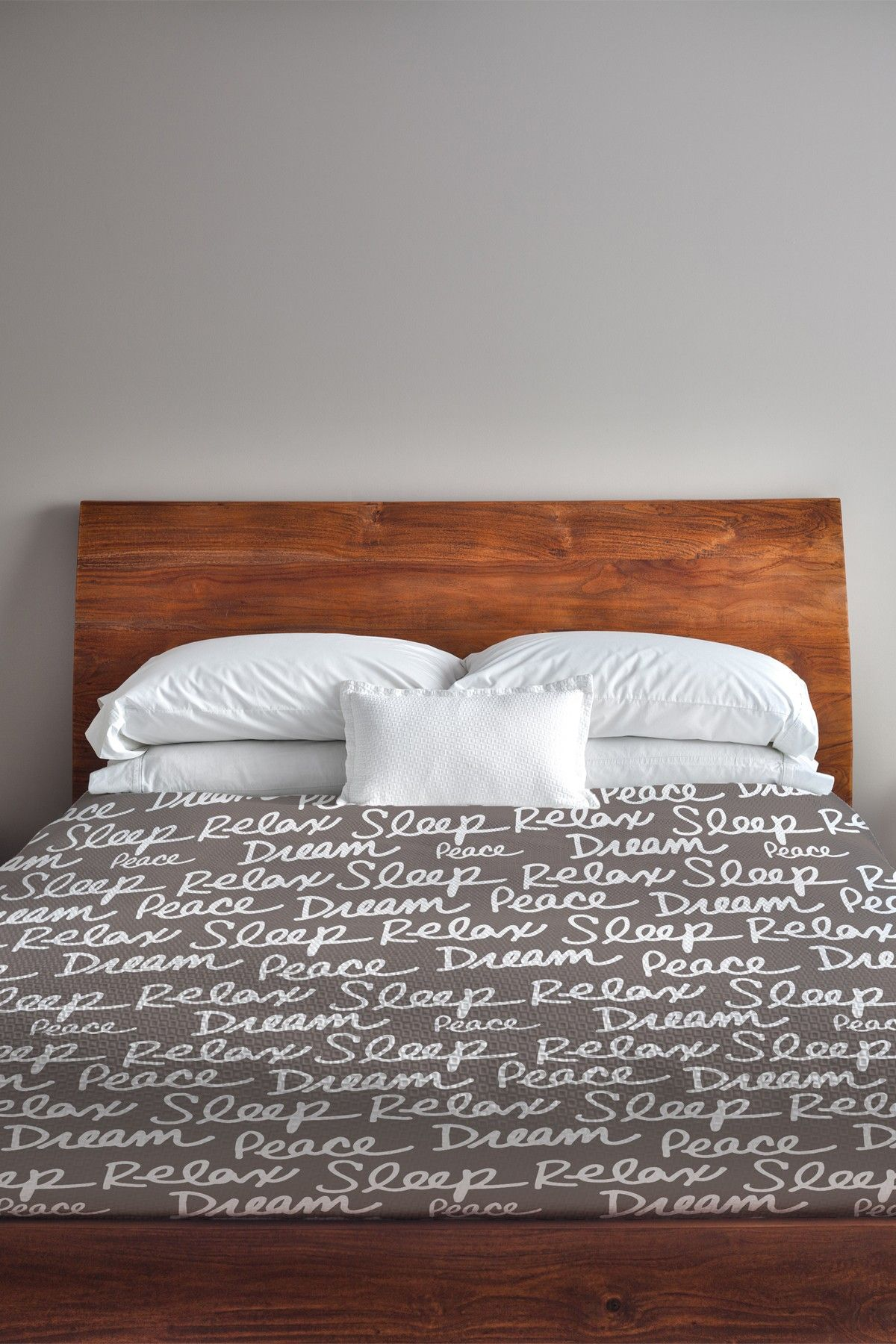 All Over Sleep Words Duvet Cover Driftwood White Lightweight Duvet Covers Fresh Bedding Best Duvet Covers
