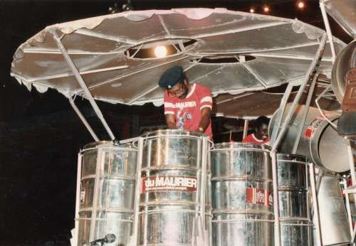 Panorama - the steelband final at the annual carnival. Port-of-Spain, Trinidad & Tobago. Peter Krog.