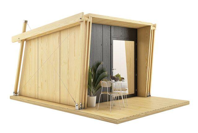 Vivood casas desmontables de madera para hacer glamping - Feria de casas prefabricadas ...