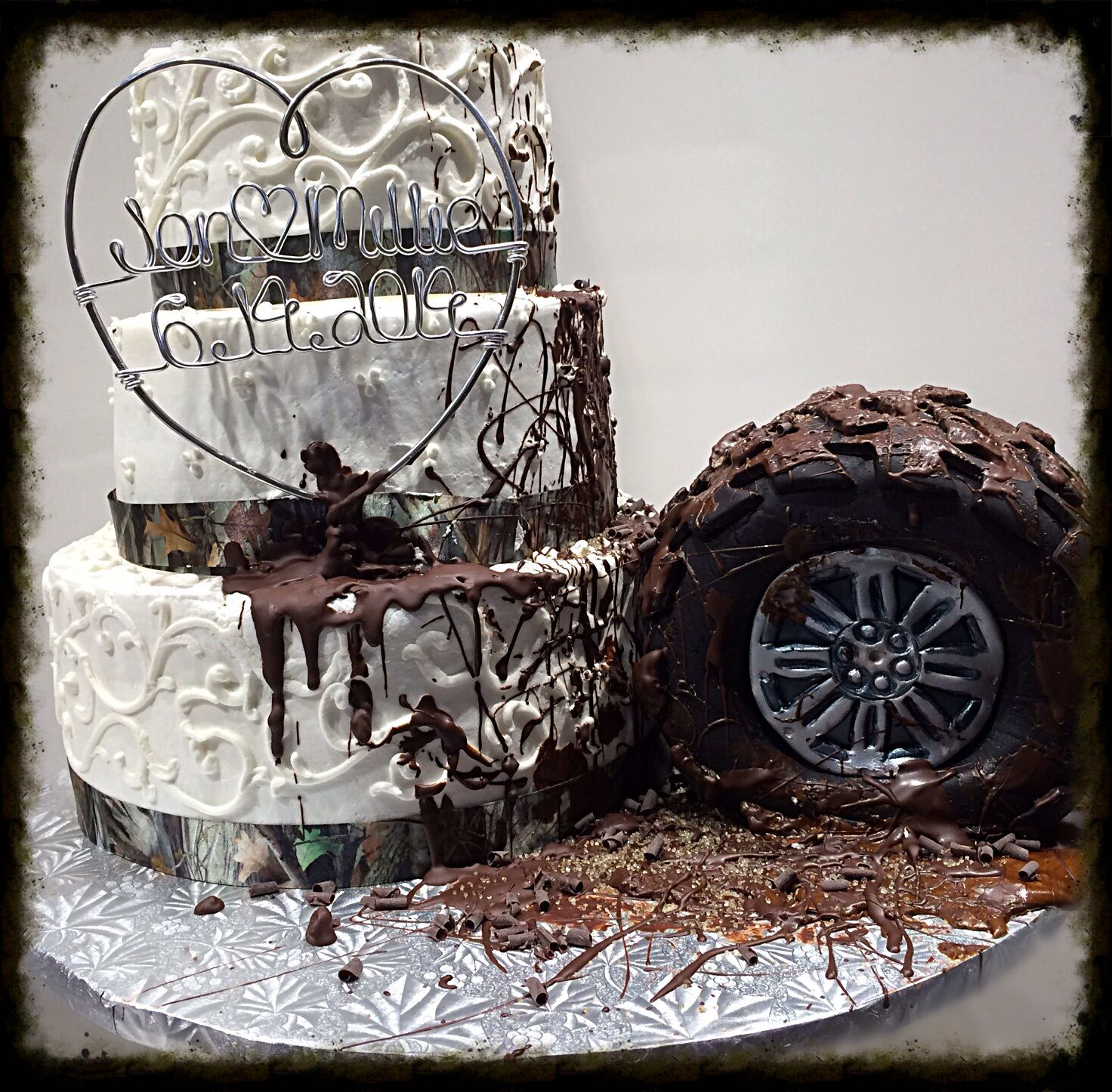 Camo And Mud Runner Wedding Awesome Just My Kind Of