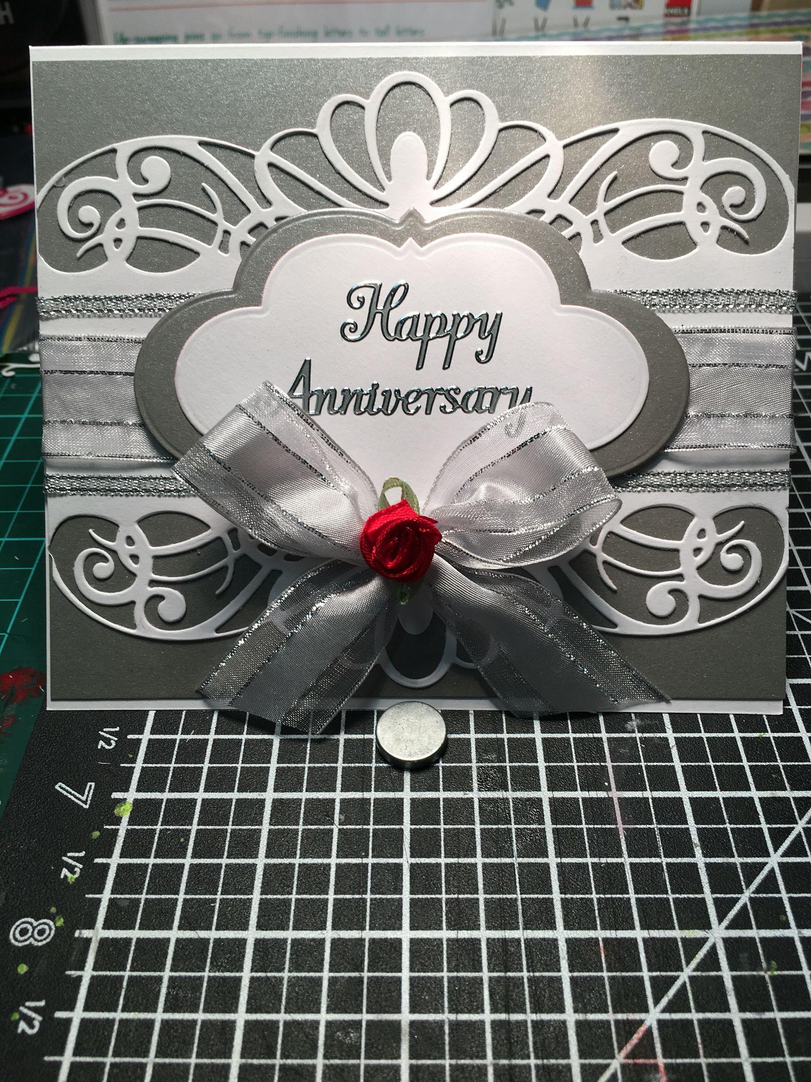 Wedding anniversary card cards pinterest cards