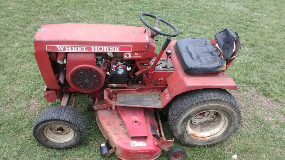 Bolens Garden Tractor Automatic