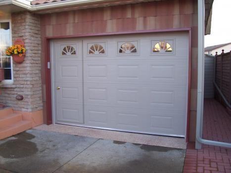 Walkthru Garage Door Bhc Power Garage Doors Doors Garage